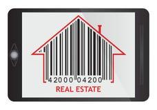 Concepto 6 de las propiedades inmobiliarias Foto de archivo libre de regalías