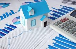 Concepto 6 de las propiedades inmobiliarias Imagenes de archivo