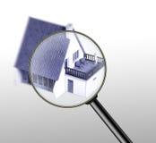 Concepto de las propiedades inmobiliarias Foto de archivo libre de regalías