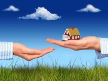 Propiedades inmobiliarias. Fotos de archivo libres de regalías