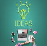 Concepto de las táctica de la estrategia del plan del objetivo de diseño de las ideas Imagen de archivo libre de regalías