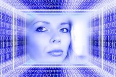 Concepto de las tecnologías de Digitaces Fotografía de archivo