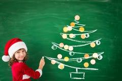 Concepto de las vacaciones de invierno de Navidad de la Navidad Foto de archivo libre de regalías