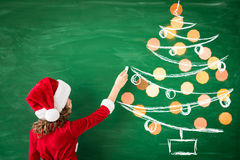 Concepto de las vacaciones de invierno de Navidad de la Navidad Fotografía de archivo