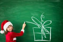 Concepto de las vacaciones de invierno de Navidad de la Navidad Imagen de archivo libre de regalías
