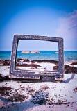 concepto de las vacaciones de la playa Imagen de archivo libre de regalías