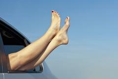 Concepto de las vacaciones del viaje por carretera del verano Fotos de archivo