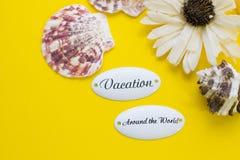 Concepto de las vacaciones en todo el mundo Foto de archivo