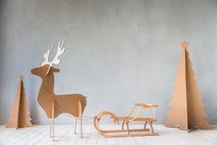 Concepto de las vacaciones de invierno de Navidad de la Navidad foto de archivo