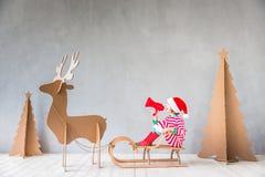 Concepto de las vacaciones de invierno de Navidad de la Navidad Fotos de archivo libres de regalías