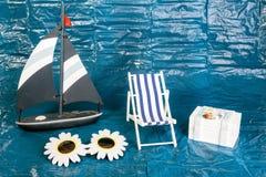Concepto de las vacaciones de verano fotografía de archivo