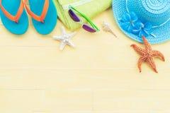 Concepto de las vacaciones de verano y de las vacaciones Imagen de archivo libre de regalías