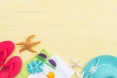 Concepto de las vacaciones de verano y de las vacaciones Imágenes de archivo libres de regalías
