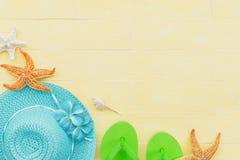 Concepto de las vacaciones de verano y de las vacaciones Foto de archivo libre de regalías