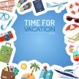 Concepto de las vacaciones y del turismo Fotos de archivo