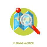 Concepto de las vacaciones y del turismo Fotografía de archivo