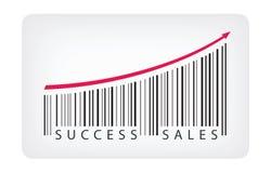 Concepto de las ventas del éxito Fotografía de archivo libre de regalías