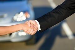 Concepto de las ventas del coche Fotografía de archivo libre de regalías