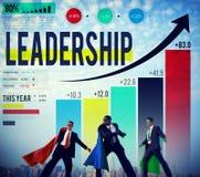 Concepto de Lead Management Coach del líder de la dirección imagenes de archivo