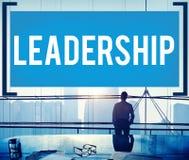 Concepto de Lead Manager Management del líder de la dirección Imagen de archivo libre de regalías