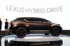 Concepto de Lexus LF-Xh Foto de archivo
