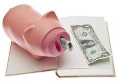 Concepto de los ahorros de la educación Fotos de archivo libres de regalías