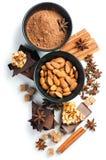 Concepto de los dulces aislado Foto de archivo libre de regalías