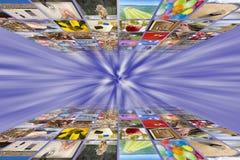 Concepto de los medios de la imagen de Digitaces Imágenes de archivo libres de regalías
