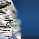 Concepto de los periódicos Imagen de archivo libre de regalías