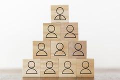 Concepto de los recursos humanos, de la corporación y de la dirección fotos de archivo libres de regalías