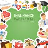 Concepto de los servicios de seguro Fotografía de archivo libre de regalías