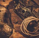 Concepto de los viajeros del mar Imágenes de archivo libres de regalías