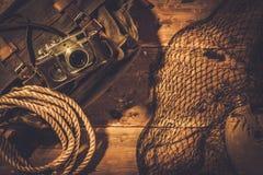 Concepto de los viajeros del mar Fotografía de archivo libre de regalías