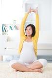 Concepto de maternidad de la salud. Imagen de archivo libre de regalías