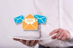 Concepto de mensaje fotografía de archivo libre de regalías