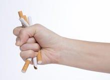 Concepto de no fumadores fotos de archivo