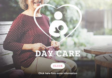 Concepto de Nursery Love Motherhood de la niñera de la niñera del cuidado de día imágenes de archivo libres de regalías
