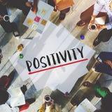 Concepto de pensamiento de la salud del modo de pensar de la positividad foto de archivo