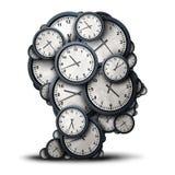 Concepto de pensamiento del tiempo libre illustration