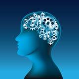 Concepto de pensamiento humano libre illustration