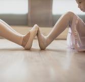 Concepto de Performer Practice Dress del bailarín de la bailarina del ballet Fotos de archivo