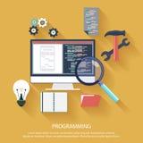 Concepto de programación libre illustration
