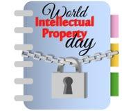 Concepto de protecci?n de los derechos reservados, propiedad intelectual bajo la forma de icono de los derechos reservados en el  libre illustration