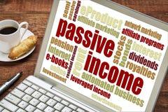 Concepto de renta pasiva Imagen de archivo libre de regalías