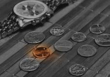Concepto de renta pobre Fotografía de archivo libre de regalías