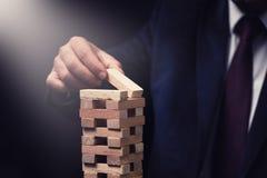 Concepto de riesgo, de plan y de estrategia en negocio fotos de archivo libres de regalías
