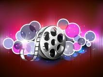 Concepto de rollo de película stock de ilustración