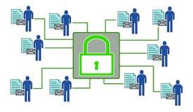 Concepto de seguridad de datos personal libre illustration