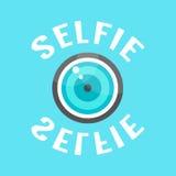 Concepto de selfie con el lense Fotografía de archivo libre de regalías