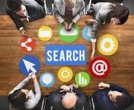Concepto de SEO Search Engine Optimization Searching Foto de archivo libre de regalías